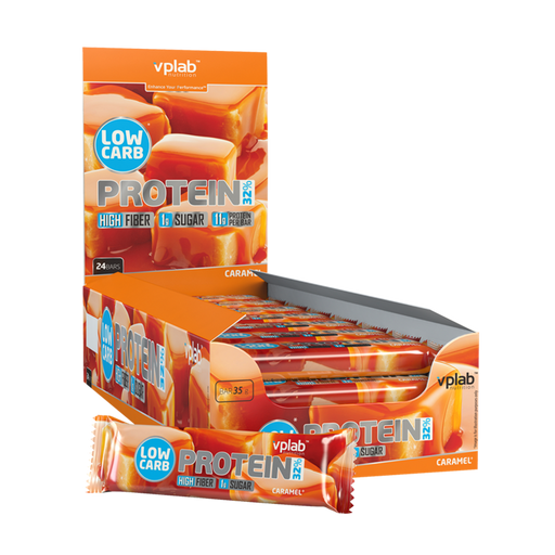 VPLAB Low Carb Protein Bar (24 x 35 g)