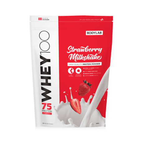 Bodylab Whey 100 (1 kg) - Strawberry