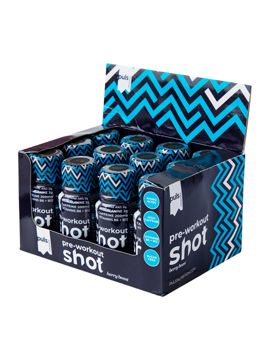 PULS Preworkout Shot (12 x 60 ml)