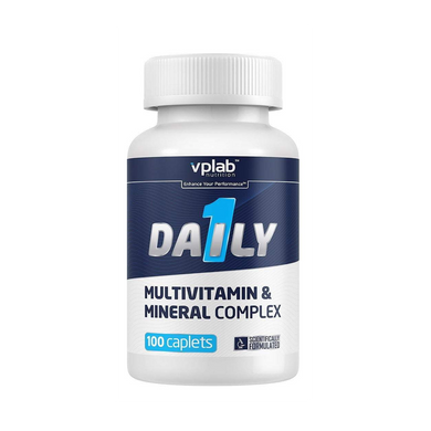 VPLAB Daily 1 Multivitamin (100 kapletes)
