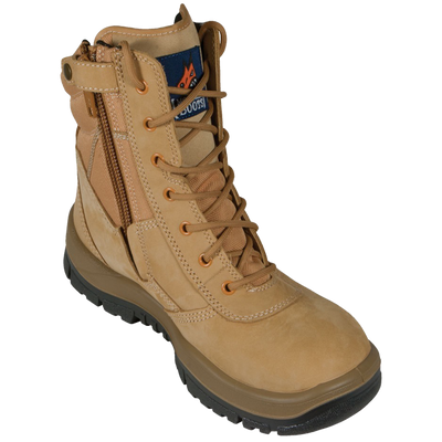 MONGREL HIGH LEG ZIP-SIDER BOOT - Claude Cater Mensland Mareeba