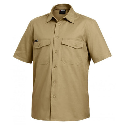 KING GEE WORKCOOL 2 S/S SHIRT - Claude Cater Mensland Mareeba