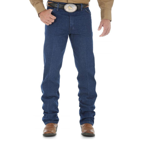 WRANGLER WASHED ORIGINAL COWBOY CUT 36
