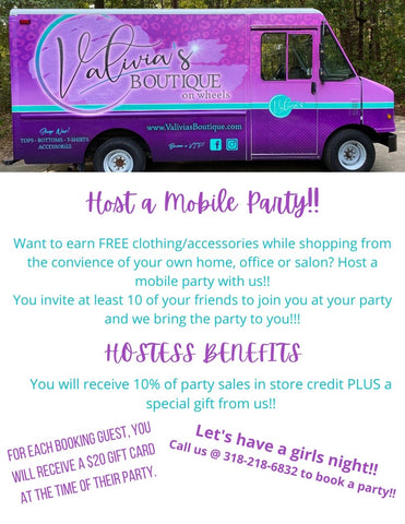 Host a Mobile Party!!