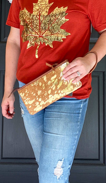The Heifer Wristlet