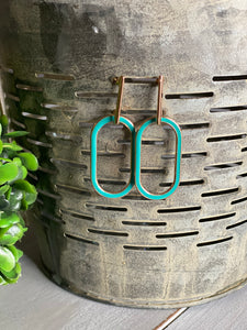 Turquoise Dangle Earrins