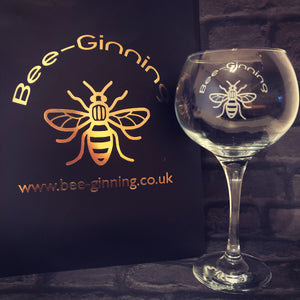 Bee-Ginning Gin Glass (New Style)