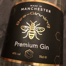 Load image into Gallery viewer, Bee-Ginning Premium Gin (70cl)