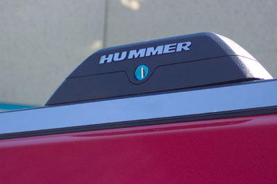 Hummer H3 2006-2010 Stainless Steel Letters for Roof Rack