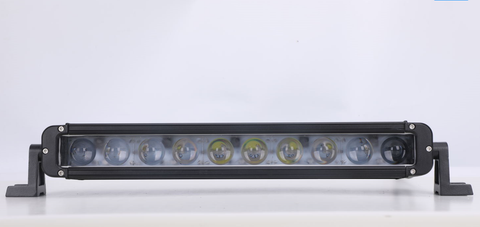 50'' 300W Single Row CREE LED Light Bar 4D Reflector Optics.
