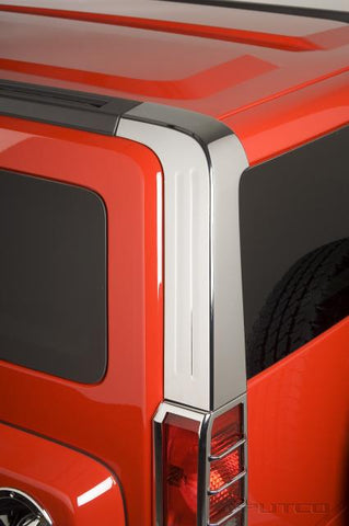 Hummer H3 2006-2010 Chrome Pillar Covers