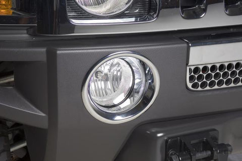 Hummer H3 2006-2010 Fog Lamp Overlays & Rings