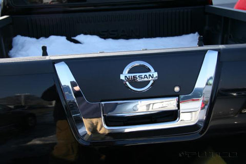 Nissan D40 | Chrome Tailgate Handle | Stage 1 Customs