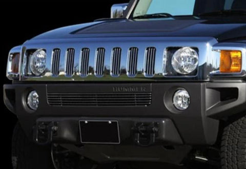 Hummer H3 2006-2010 Billet Lower Grille Black