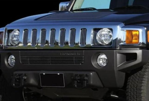 Hummer H3 2006-2010 Billet Lower Grille Brushed