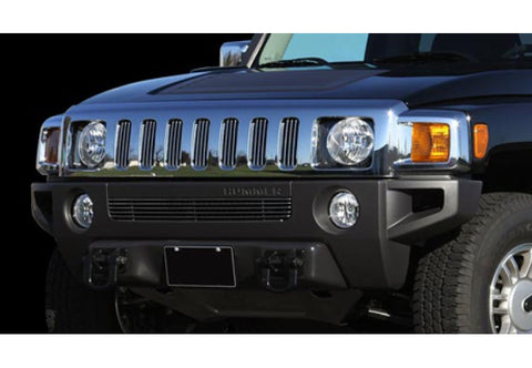 Hummer H3 2006-2010 Billet Upper Grille Black (7 Piece)