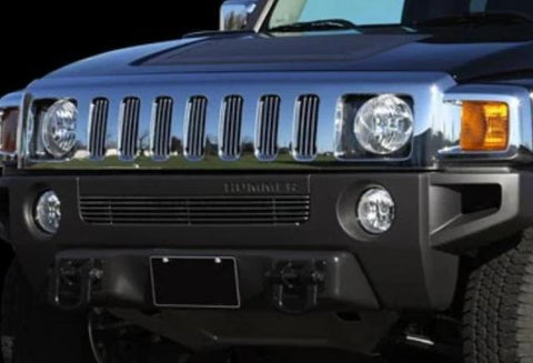 Hummer H3 2006-2010 Billet Lower Grille Polished