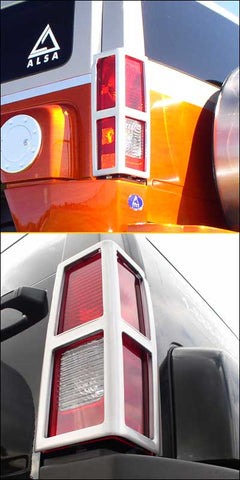 Hummer H3 | Tail Light Guard Aluminum | Stage 1 Customs