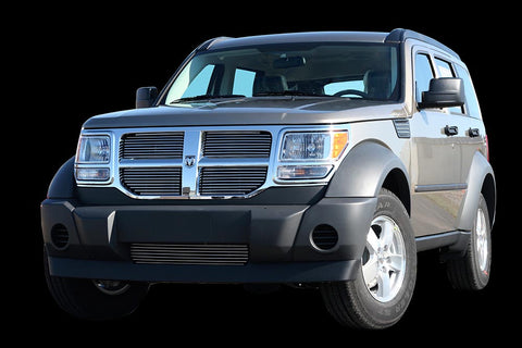 Dodge Nitro |Billet Grille | Polished Aluminium | Stage 1 Customs