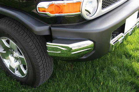 Toyota | FJ Cruiser | Chrome Front Bumper Covers | Stage 1 Customs