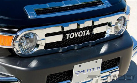 Toyota | FJ Cruiser | Chrome Grill Cover | Stage 1 Customs