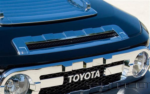 Toyota FJ Cruiser | Chrome Front Hood Scoop | Stage 1 Customs