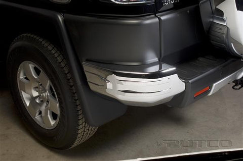 Toyota FJ Cruiser 2007-2016 Chrome Rear Bumper Corners