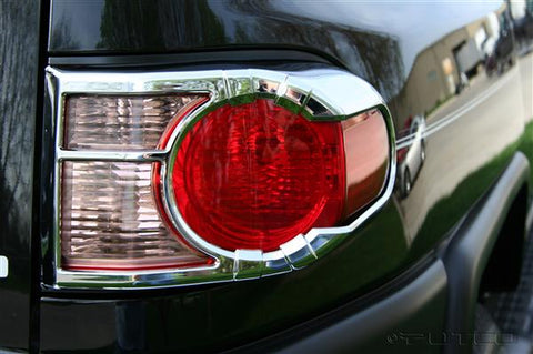 Toyota FJ Cruiser 2007-2016 Chrome Tail Light Covers
