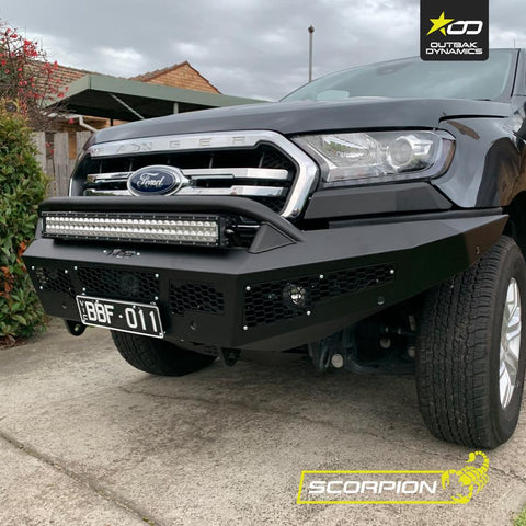 Ford Ranger | Bull Bar | Scorpion Offroad | 4x4 | Stage 1 Customs