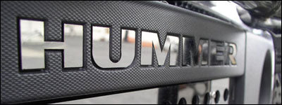Hummer H3 2006-2010 Stainless Steel Letters