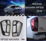 Nissan Navara | NP300 | Tail Lights | Matte Black | Stage 1 Customs
