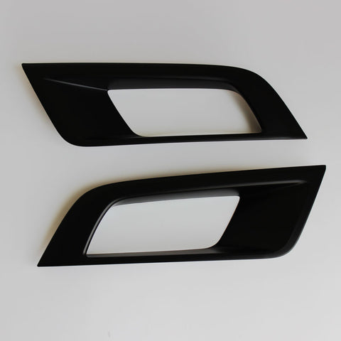 Ford Ranger 2015-2018 Mk2 WILDTRAK Fog Light Cover Matte Black.