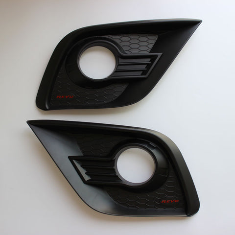 Toyota Hilux 2015-2019 Fog Light Cover Matte Black