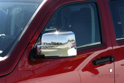 Dodge Nitro  2007 - 2012 Chrome Mirror Covers (Pair)