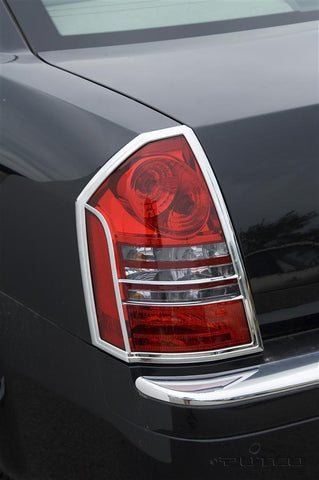Chrysler 300c 2005-2010 Chrome Tail Light Covers (Pair)