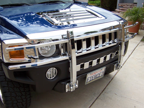 Hummer H3 | Billet Brush Guard | Bull Bar | Stage 1 Customs