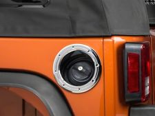 Jeep Wrangler JK 2007-2018 Chrome Fuel Door Cover