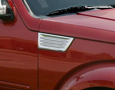 Dodge Nitro 2007 - 2012 Chrome Side Vents (Pair)