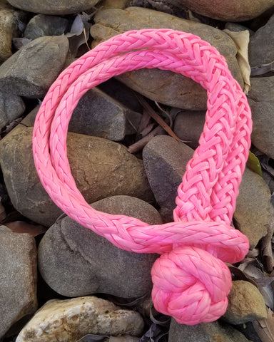 Saber Offroad 14,700KG Saber Pro Soft Shackles for a Cause – PINK (Cancer Support)