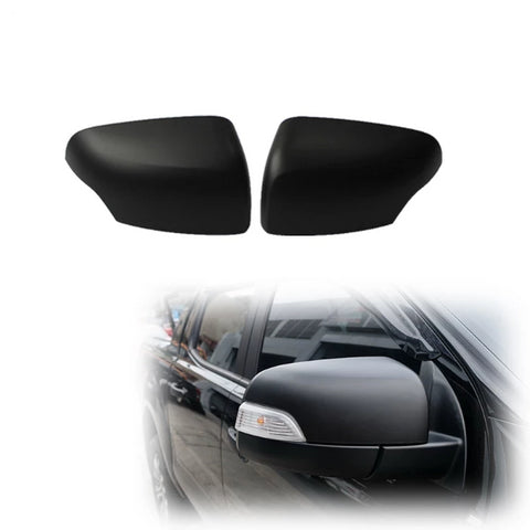 Ford Ranger 2015-2018 Mk2 XLT and Wildtrak Mirror Cover Matte Black.