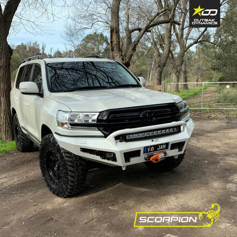 Landcruiser 200 series Bull Bar - Scorpion Bar - Stage1Customs