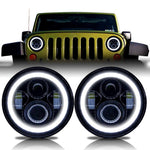 Jeep Wrangler | Halo | LED Projector | Headlights | Stage 1 Customs