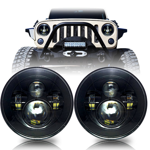 Jeep Wrangler JK 2007-2018 LED Projector Headlights