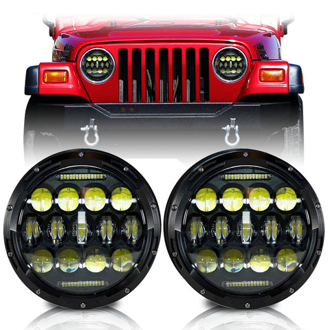 Jeep Wrangler JK 2007-2018 LED Headlights