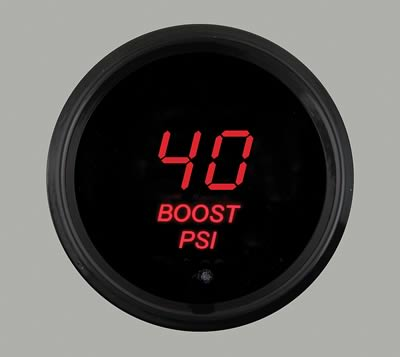 Nordskog Street Digital Boost Gauge 40 PSI