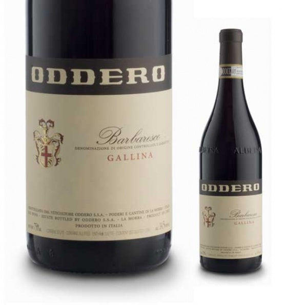 Oddero Barbaresco Gallina 2016