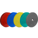 HIT Fitness Bumper Plates | Coloured