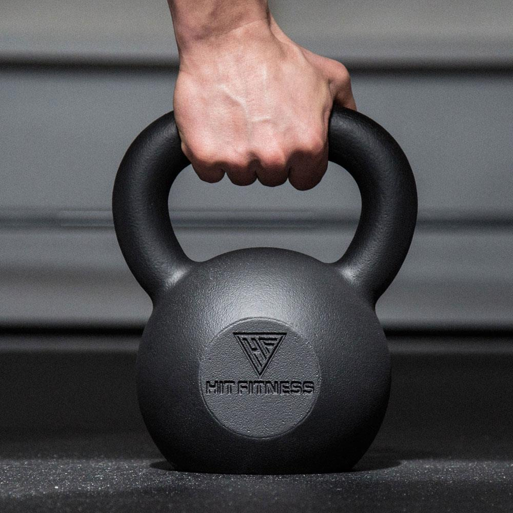 HIT FITNESS Cast Iron Kettlebells