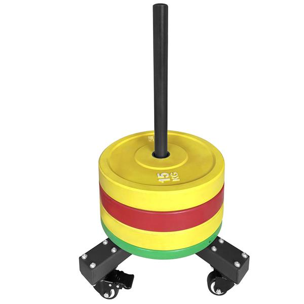 Hit Fitness Bumper Plate Storage | Trolley