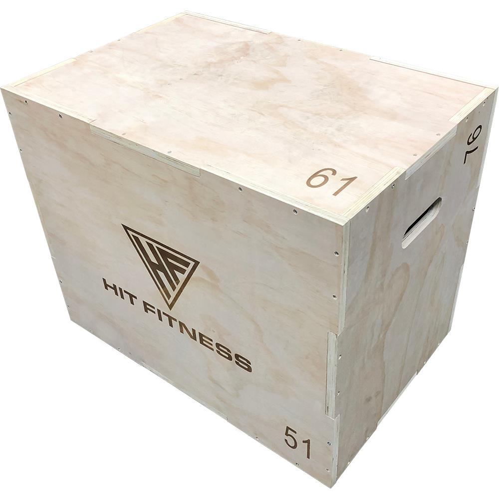 Hit Fitness Jump Box | Wooden